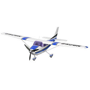 Cessna 182 MK II 1400 Series RTF Electric Aircraft with 2.4ghz Radio System - Blue
