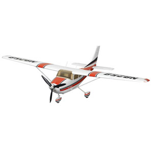 Cessna 182 MK II 1400 Series RTF Electric Aircraft with 2.4ghz Radio System - Red
