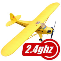 J3 Piper Cub 1400 Series RTF with 2.4ghz Radio System
