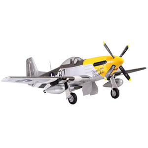 P51 Mustang 1700 Series ARTF Electric Warbird with Retract Landing Gear