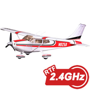 Cessna 182 1100 Series RTF Electric Aircraft with 2.4ghz Radio System