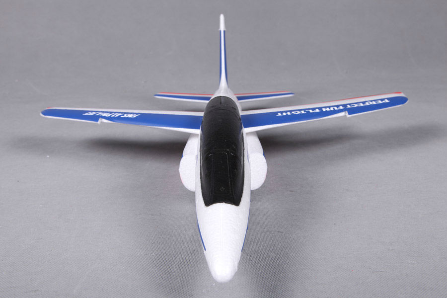 Fms 600mm Free Flight Alpha Glider Kit Blue And Red Fs0174r
