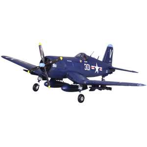 F4U-4 Corsair V3 1400 Series ARTF Warbird with with Retract Landing Gear