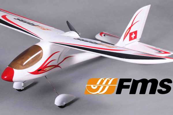 FMS Red Dragonfly 900mm RTF Trainer
