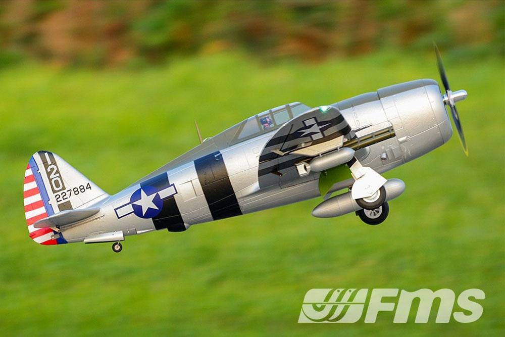 FMS 1500MM P-47 RAZORBACK 'BONNIE' ARTF WARBIRD W/O TX/RX/BATT #FS0227