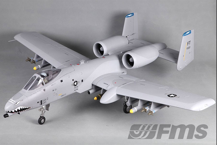 Fairchild Republic A10 Thunderbolt II vector drawing