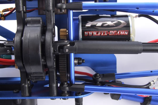FTX Spyder Transmission