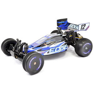Edge RTR 1/10th Scale Brushed Electric 2WD Buggy - Blue