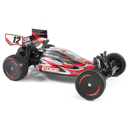 Edge RTR 1/10th Scale Brushed Electric 2WD Buggy - Red