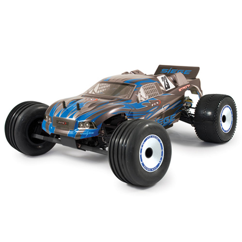 Siege 1/10th Brushed RTR 2WD 3-in-1 Electric Truggy - Blue