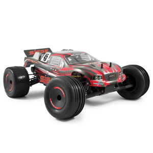 Siege 1/10th Brushed RTR 2WD 3-in-1 Electric Truggy - Red
