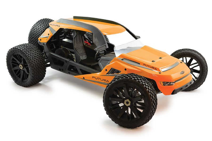 FTX FUTURA 1/6 BRUSHLESS 2WD CONCEPT BUGGY READY SET #FTX5559