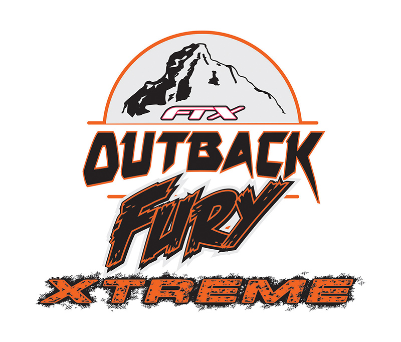 FTX OUTBACK FURY XTREME 4X4 TRAIL CRAWLER ROLLER LOGO