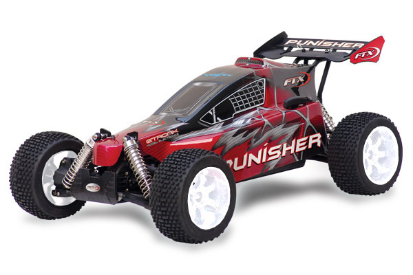 FTX Punisher Plus RTR 1/5th Scale Buggy with 2.4GHz - Red