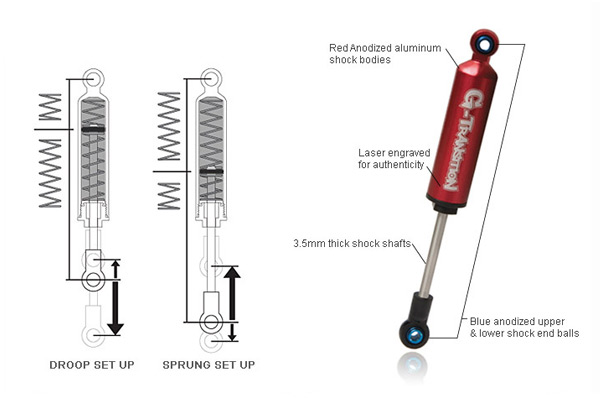 Gmade G-Transition Shock Absorber Detail