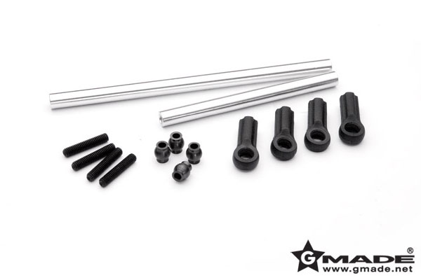 gmade r1 heavy duty front steering rods  gm51118s