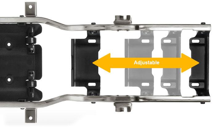 GM52000 Adjustable Battery Plate