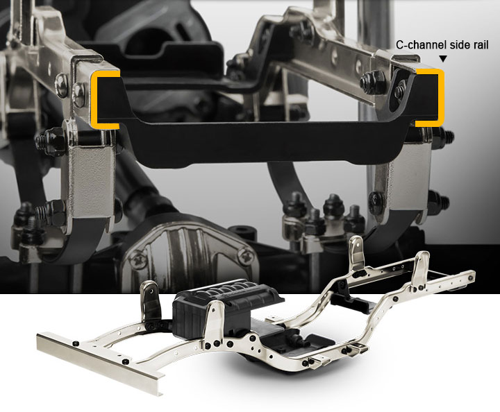 GM52000 Steel Chassis