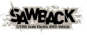 GMADE GS01 SAWBACK 4WD 1/10 SCALE ROCK CRAWLER KIT LOGO