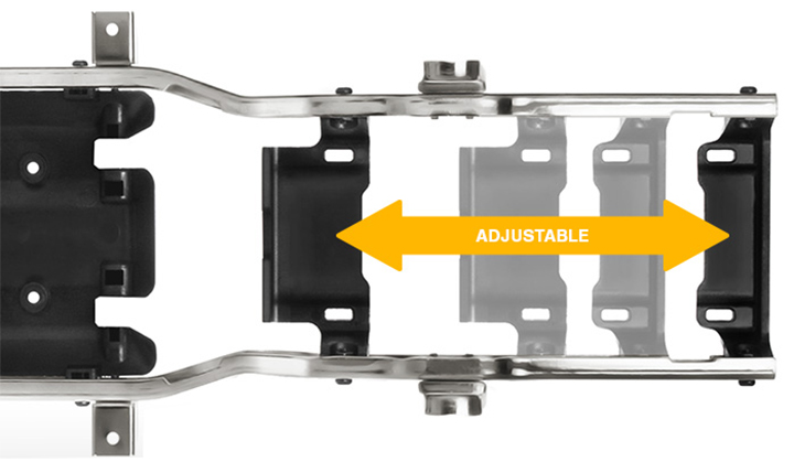 Adjustable Battery Plate
