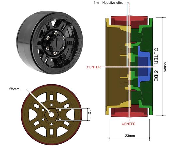 NR02 Wheel