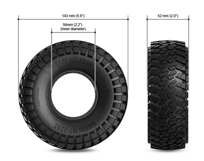 Gmade MT2202 Tyres