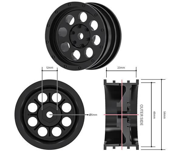NR03 Wheel