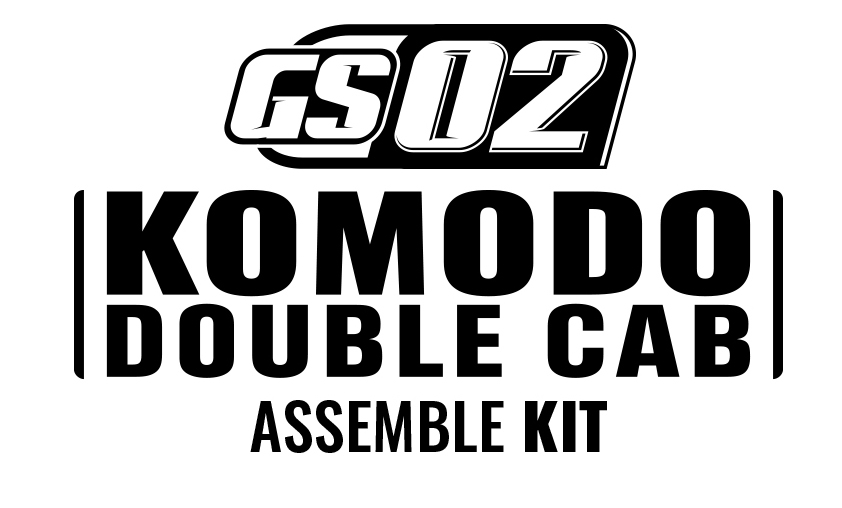 GMADE 1/10 GS02 KOMODO DOUBLE CAB TS KIT LOGO