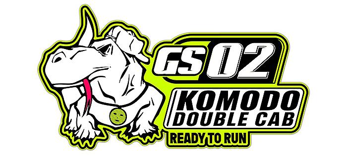 GMADE 1/10 GS02 KOMODO RTR DOUBLE CAB TS LOGO