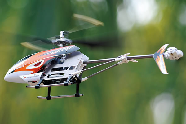 Hubsan Invader Fixed Pitch RTF Helicopter with 2.4GHz Radio System