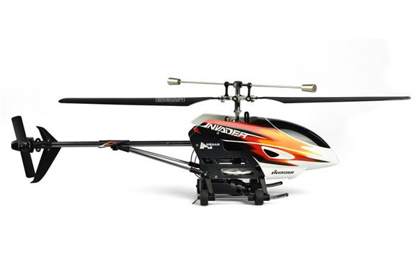 Hubsan FPV Invader Fixed Pitch Helicopter with 2.4Ghz Radio System
