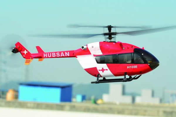 Hubsan EC145 Fixed Pitch Micro Helicopter PRO