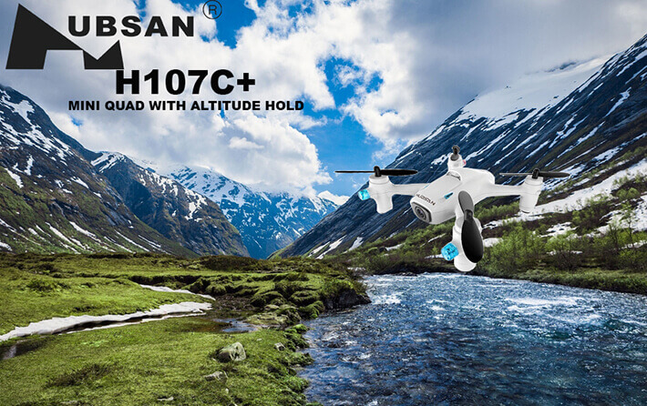 H107C+ Quadcopter