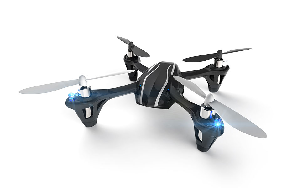 Hubsan X4 LED Mini Quad Copter RTF with 2.4Ghz Radio System