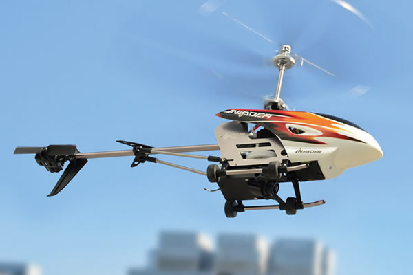 Hubsan FPV Invader Co-axial Helicopter with 2.4Ghz Radio System