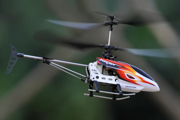 Hubsan Invader Co-axial Micro Helicopter PRO