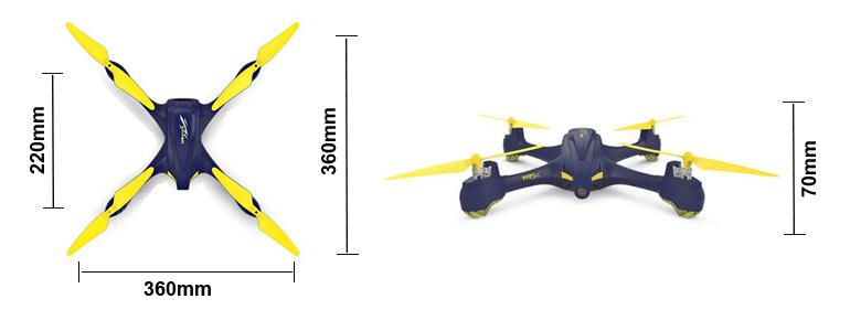 e7ba4d1dd08 HUBSAN 507A X4 STAR PRO DRONE W/GPS 720P, 1KEY, FOLLOW, WIFI ...