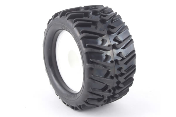 HoBao 'Swoosh' Tyres for Maxx Size Truggy - IIR Compound
