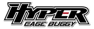 HOBAO HYPER CAGE TRUGGY BLACK NITRO RTR w/MAC28 6P ENGINE LOGO