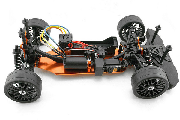 Hobao Hyper Gtb On Road 1 8 Electric Roller Long Chassis