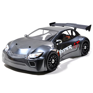 Hyper GT 1/8th Scale Nitro RTR Rally Car - Grey