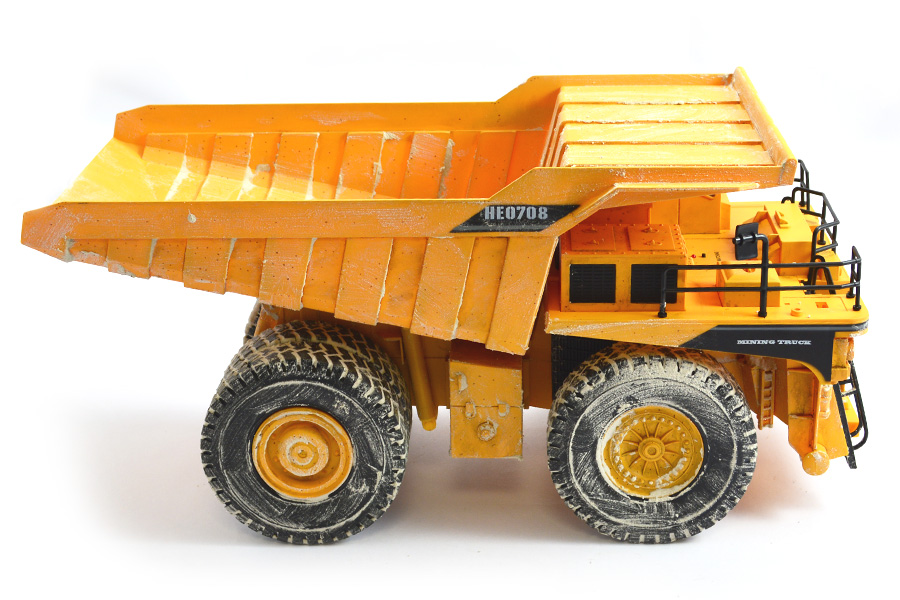 Hobby Engine Premium Label Digital 2 4g Mining Truck  He0708