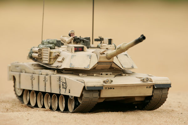 Hobby Engine M1a2 Abrams Battle Tank Desert He0817
