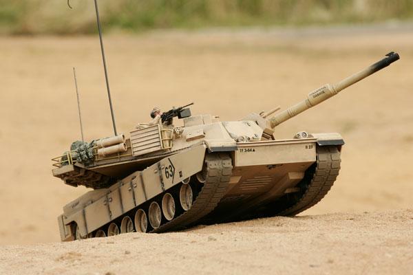 Hobby Engine M1a2 Abrams Battle Tank Desert He0817