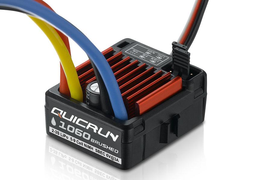 HOBBYWING QUICRUN 1060 WATERPROOF BRUSHED SBEC ESC (60A) # ...