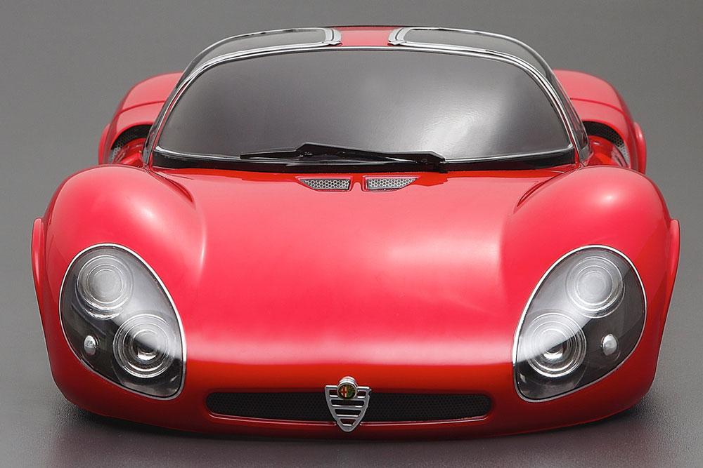Killerbody Alfa Romeo Tipo33 Stradale 190mm Clear Body