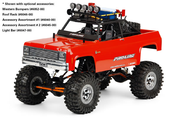 Proline 1980 Chevy Blazer CGR Bodyshell for 1/10th Crawlers, T/E/2.5-MAXX, REVO 2.5, & Savage