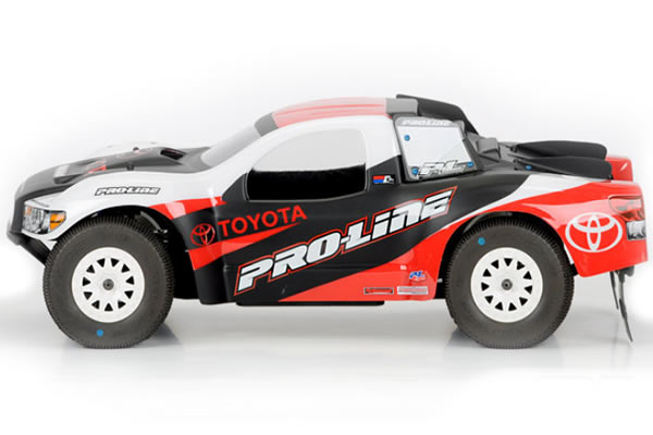 Proline Toyota Tundra Clear Bodyshell for Short Course Trucks