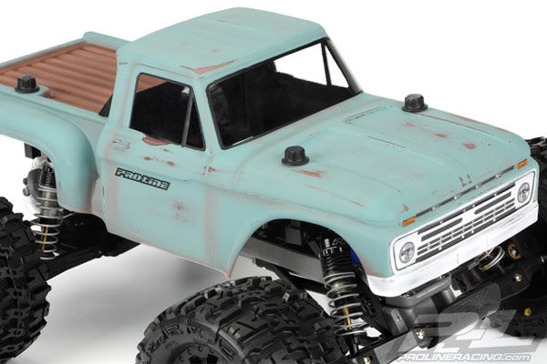 Proline 1966 Ford F 100 Clear Body For Traxxas Stampede