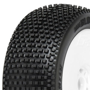 Blockade X4 (Super-Soft) Off-Road 1:8 Buggy Tyres Mounted for Front or Rear